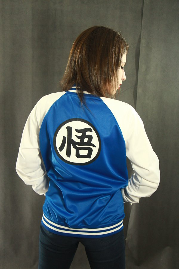 Campera universitaria Dragon Ball Edition Blue en internet