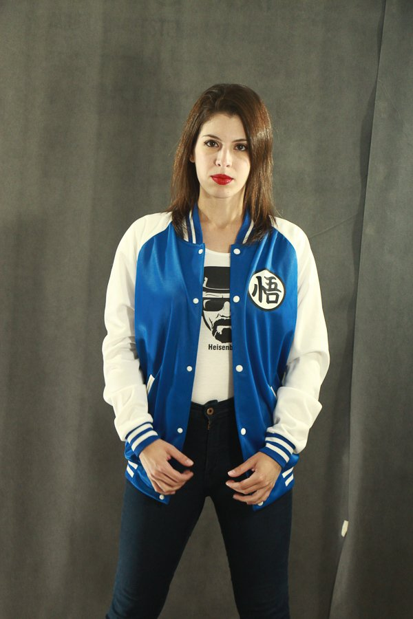 Campera universitaria Dragon Ball Edition Blue - BeSide