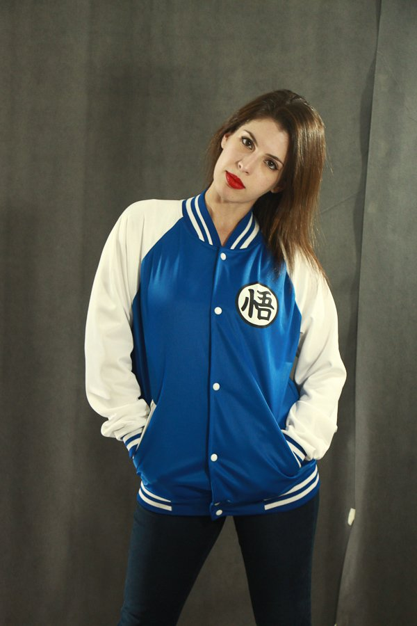 Campera universitaria Dragon Ball Edition Blue - tienda online