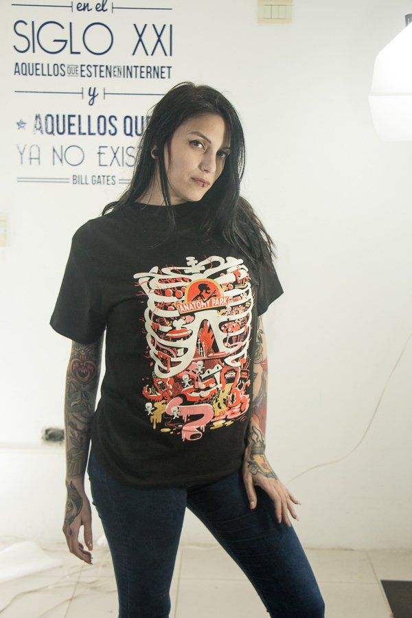 Remera anatomy Park - BeSide
