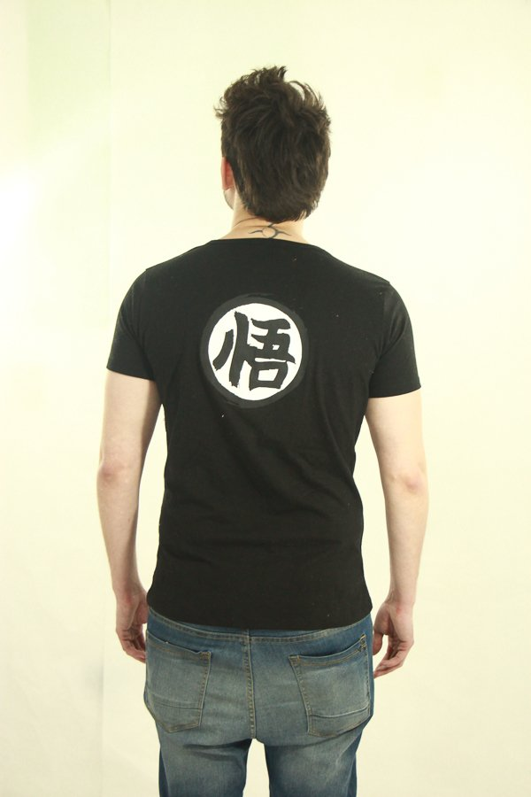 Remera Black Brush - DBZ - comprar online