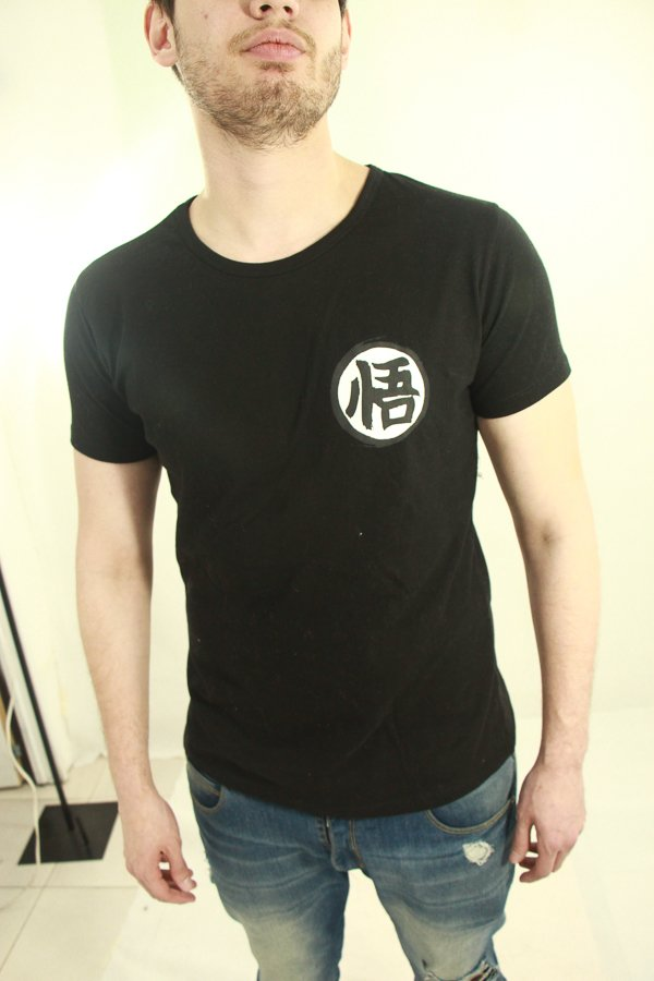 Remera Black Brush - DBZ