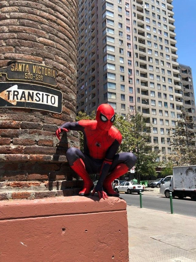 Mono Spiderman Far From Home - BeSide