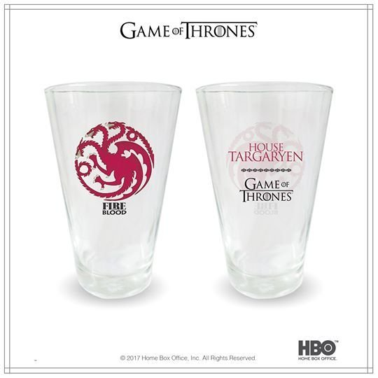 Vasos Glass Game Of Thrones - tienda online