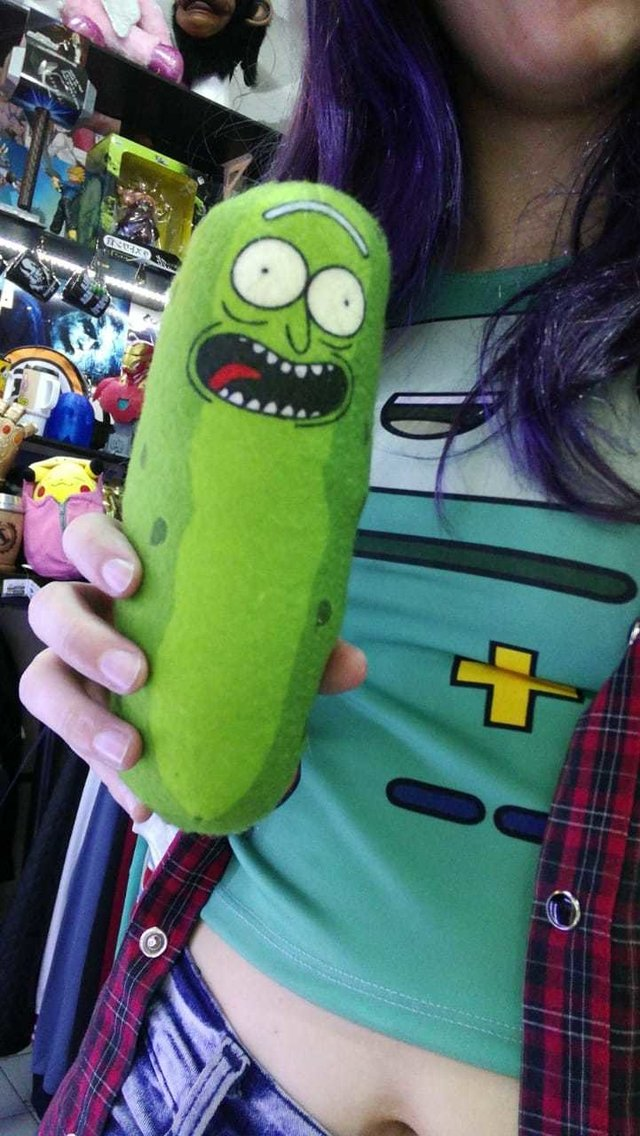 Peluche Pickle Rick, Rick And Morty - comprar online
