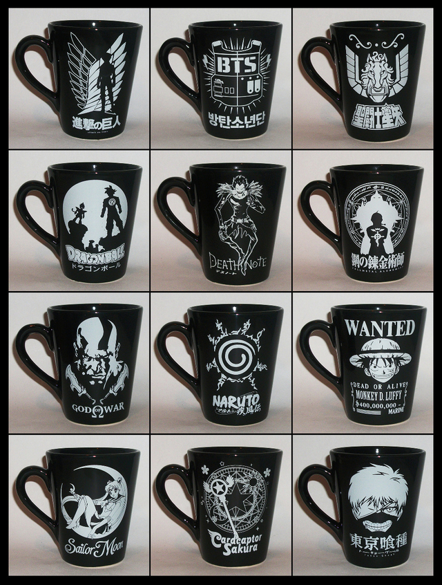 Taza conica Death Note - comprar online