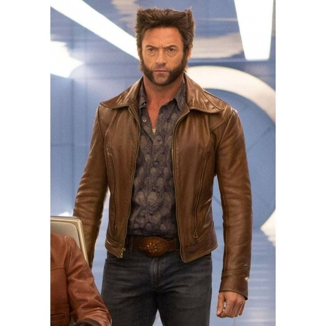 Campera de cuero Wolverine Days of Future Past