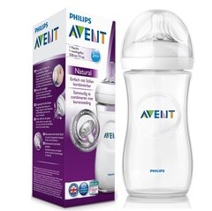 BIBERON AVENT NATURAL 330 ML 3M+ TETINA ANTICÓLICOS
