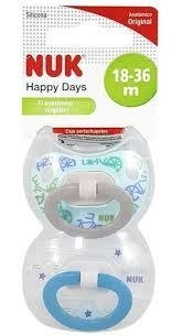 CHUPETE NUK HAPPY DAYS 18-36 - comprar online
