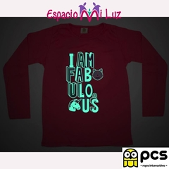 REMERA I AM FABULOUS - comprar online