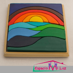 Puzzle Amanecer 100% Madera