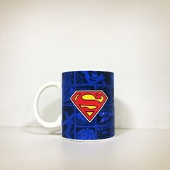 1290-CANECA PORCELANA SUPERMAN DC COMICS WYF2-DC4