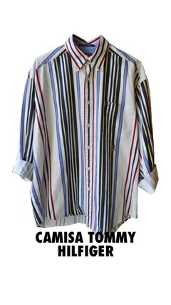 Camisa 90s Tommy