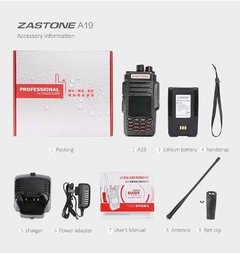 Image of Zastone A19, Dual Band, Doble Ptt, 10w, Factura