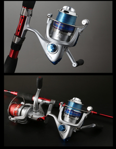 Image of Reel Frontal Spinning 6 Rulemanes Ideal Pejerey Ultraliviano