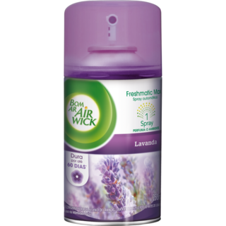 BOM AR FRESHMATIC REFIL LAVANDA 250ML AIR WICK