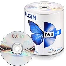 DVD-R GRAVÁVEL 7GB 120MIN ELGIN