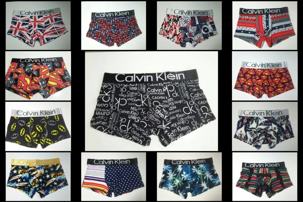 58ed1e9310211c Cuecas Calvin Klein Estampadas - Kit com 10 Peças
