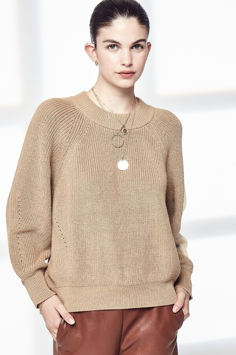 SWEATER GRACE CAMEL
