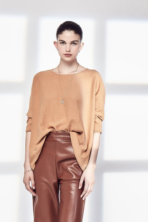 SWEATER CURIE CAMEL