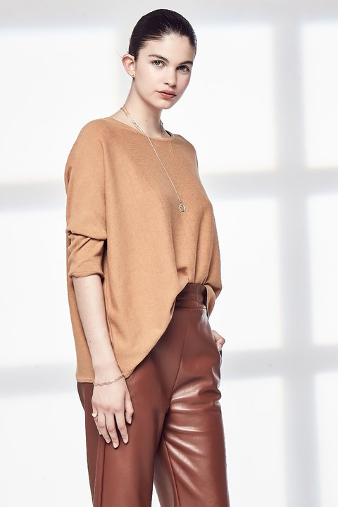 SWEATER CURIE CAMEL en internet
