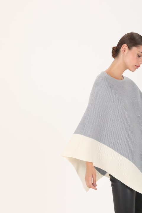 PONCHO YVES GRIS - comprar online