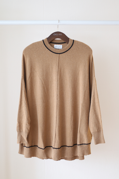 SWEATER MIRO CAMEL