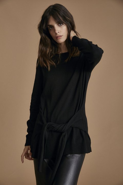 SWEATER MAY NEGRO