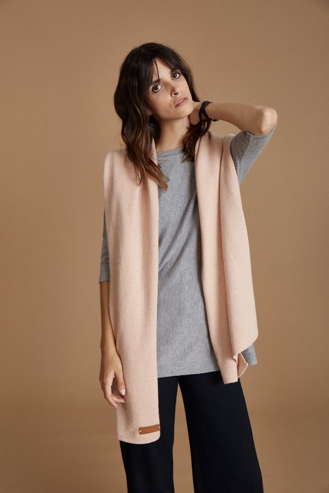 MANTEAU HARRIS ROSA