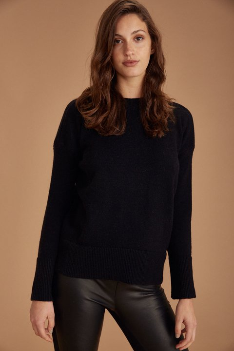 SWEATER WATTS NEGRO - Oklan
