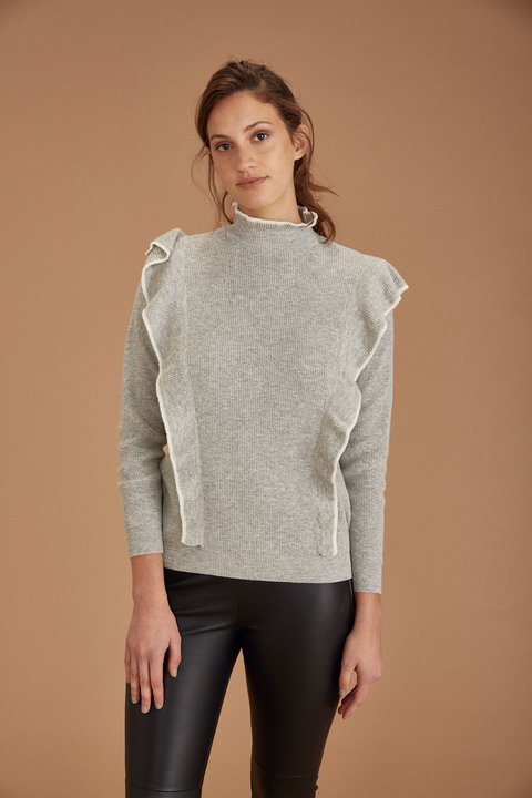 SWEATER STUART GRIS