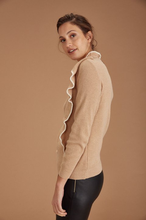 SWEATER STUART CAMEL