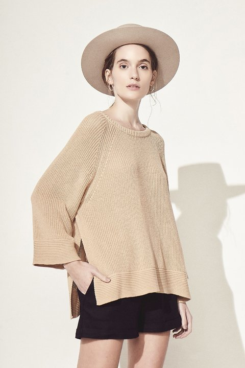 SWEATER ZAFIR CAMEL