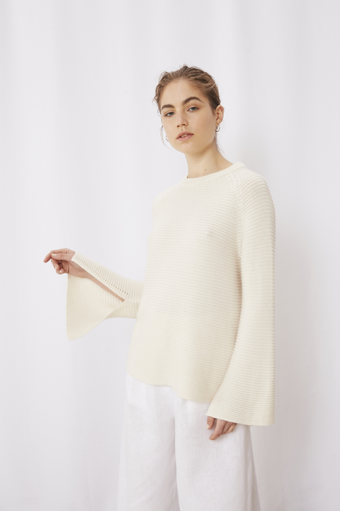 SWEATER CAVA CRUDO