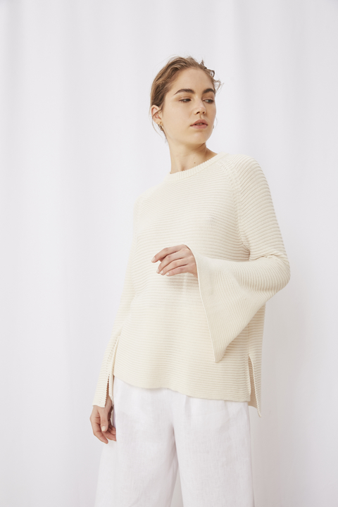 SWEATER CAVA CRUDO - Oklan
