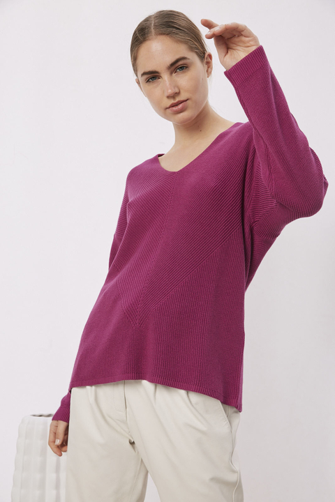 SWEATER ROSE VIOLETA - comprar online