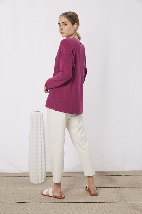 SWEATER ROSE VIOLETA - Oklan