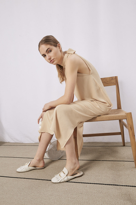 VESTIDO BLONDY CAMEL en internet