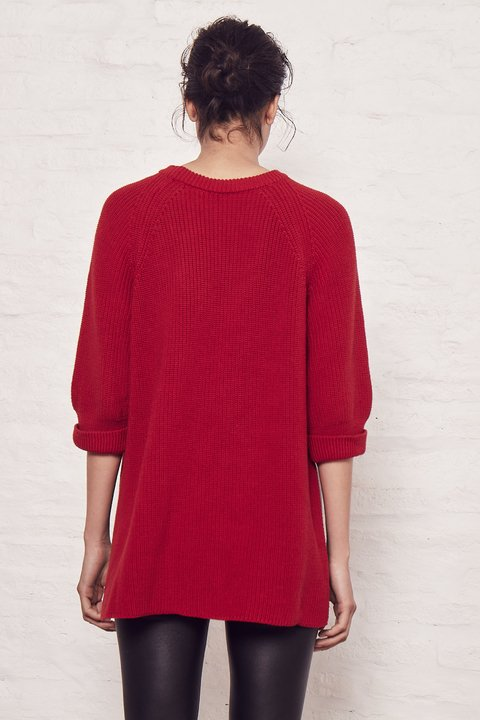 SWEATER SIMON ROJO