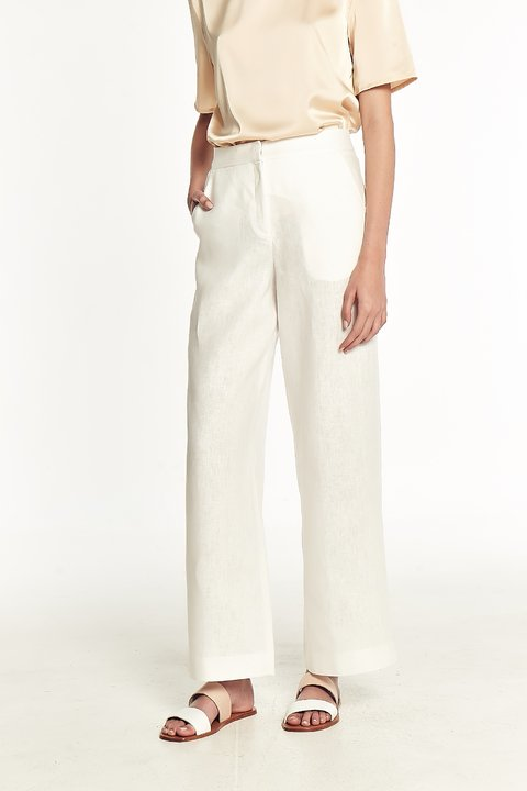 PANTALON MOUSSA BLANCO