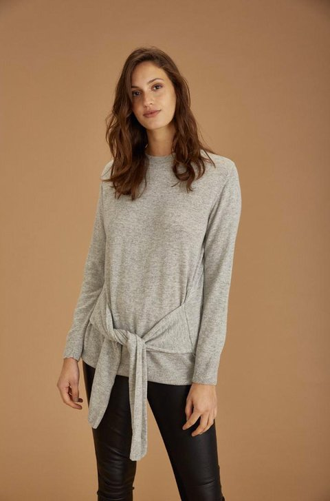 SWEATER MAY GRIS