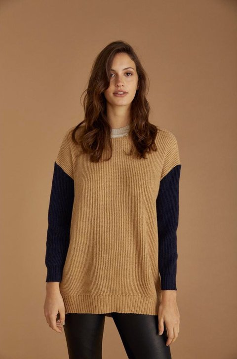SWEATER POP CAMEL