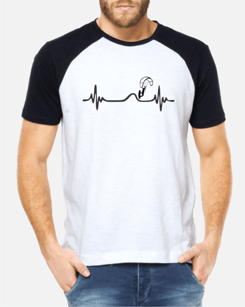 Camiseta Kite Heartbeat