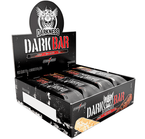 BARRA DE PROTEÍNA WHEY BAR DARKNESS (DISPLAY) | 720G | INTEGRAL MEDICA