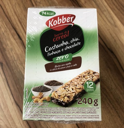 CAIXA DISPLAY BARRA DE CEREAIS | 240g | KOBBER