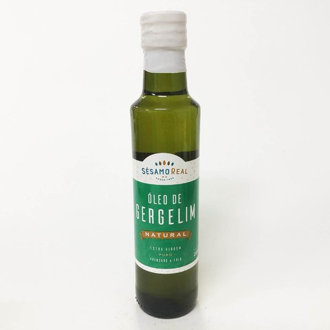 ÓLEO DE GERGELIM NATURAL  | 250ML | SÉSAMO REAL