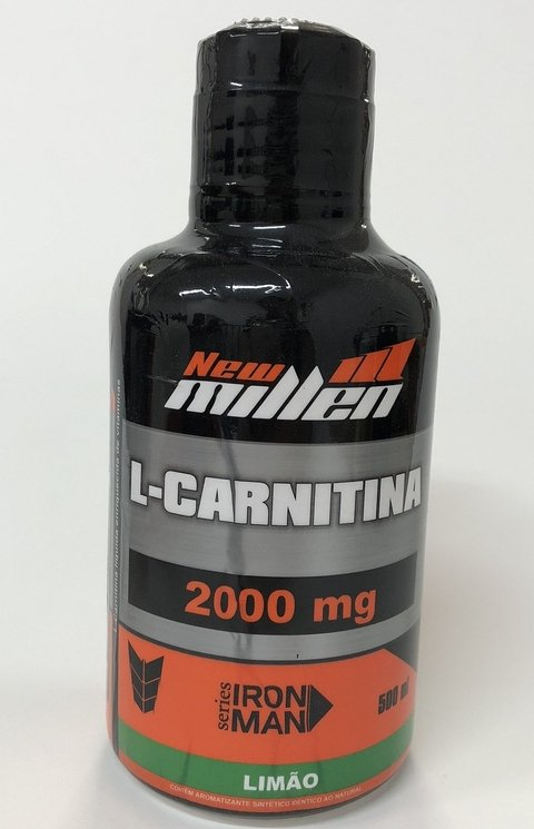 L-CARNITINA MG 2000 SABORES | 500ML | NEW MILLEN