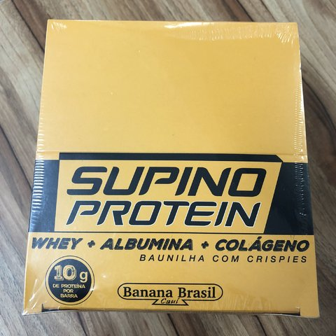 BARRA SUPINO PROTEIN COOKIES 24UNX30G (CAIXA/DISPLAY)