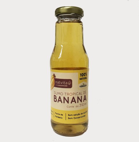 SUCO TROPICAL DE BANANA | 310ML | NATVITA