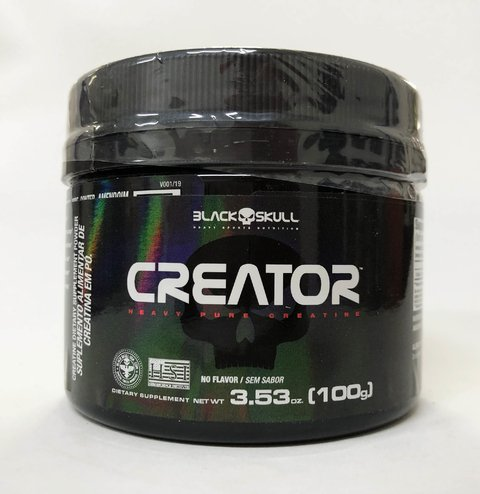 CREATOR PURE CREATINE | 100G | BLACK SKULL